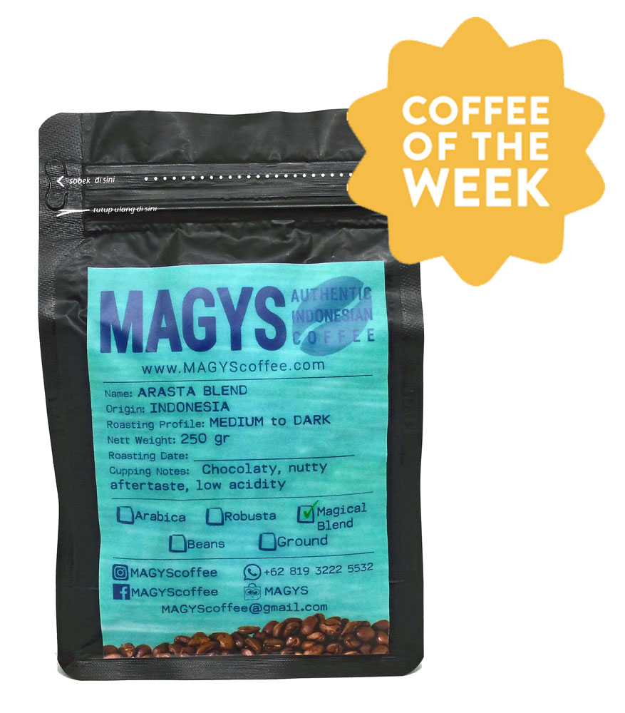 Arasta Blend - MAGYS - Your Authentic Indonesian Coffee